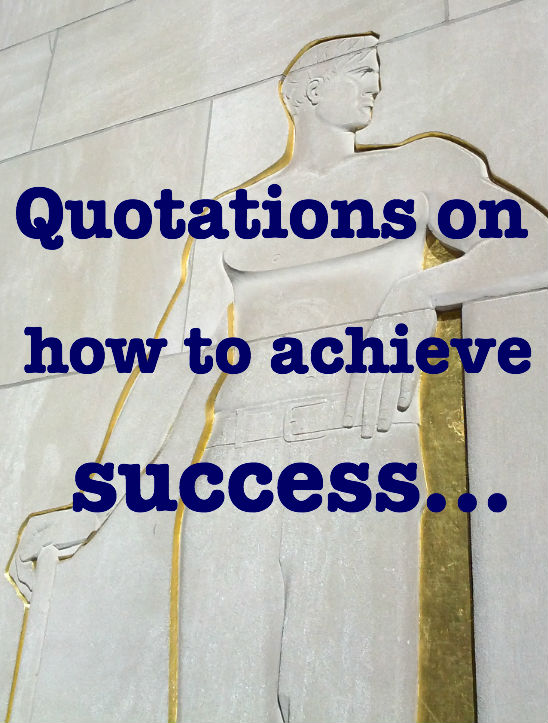 ... Quotes About Success In Life
