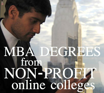 not for profit online mba schools
