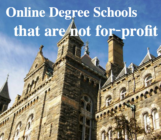 nonprofit online degrees