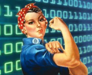 fewer women in computer tech